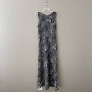Sleeveless Midi Floral Dress